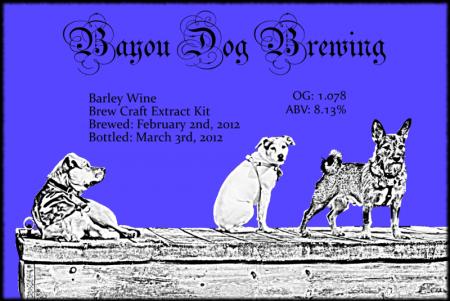 #5 - Barley Wine