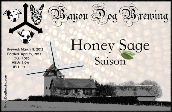 #42 - Honey Sage Saison