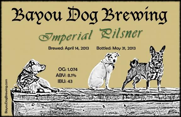 #45 - Imperial Pilsner