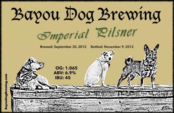 #29 - Imperial Pilsner