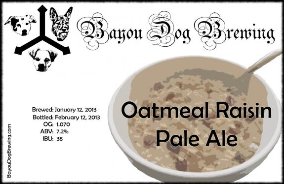 #38 - Oatmeal Raisin Pale Ale