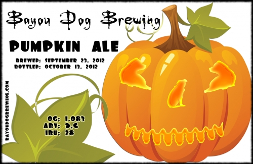 #28 - Pumpkin Ale