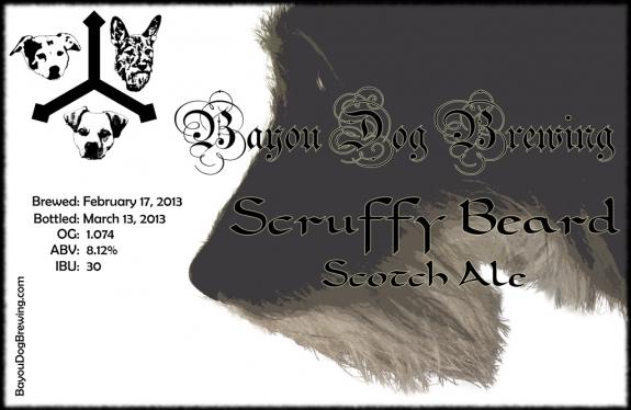 #39 - Scruffy Beard